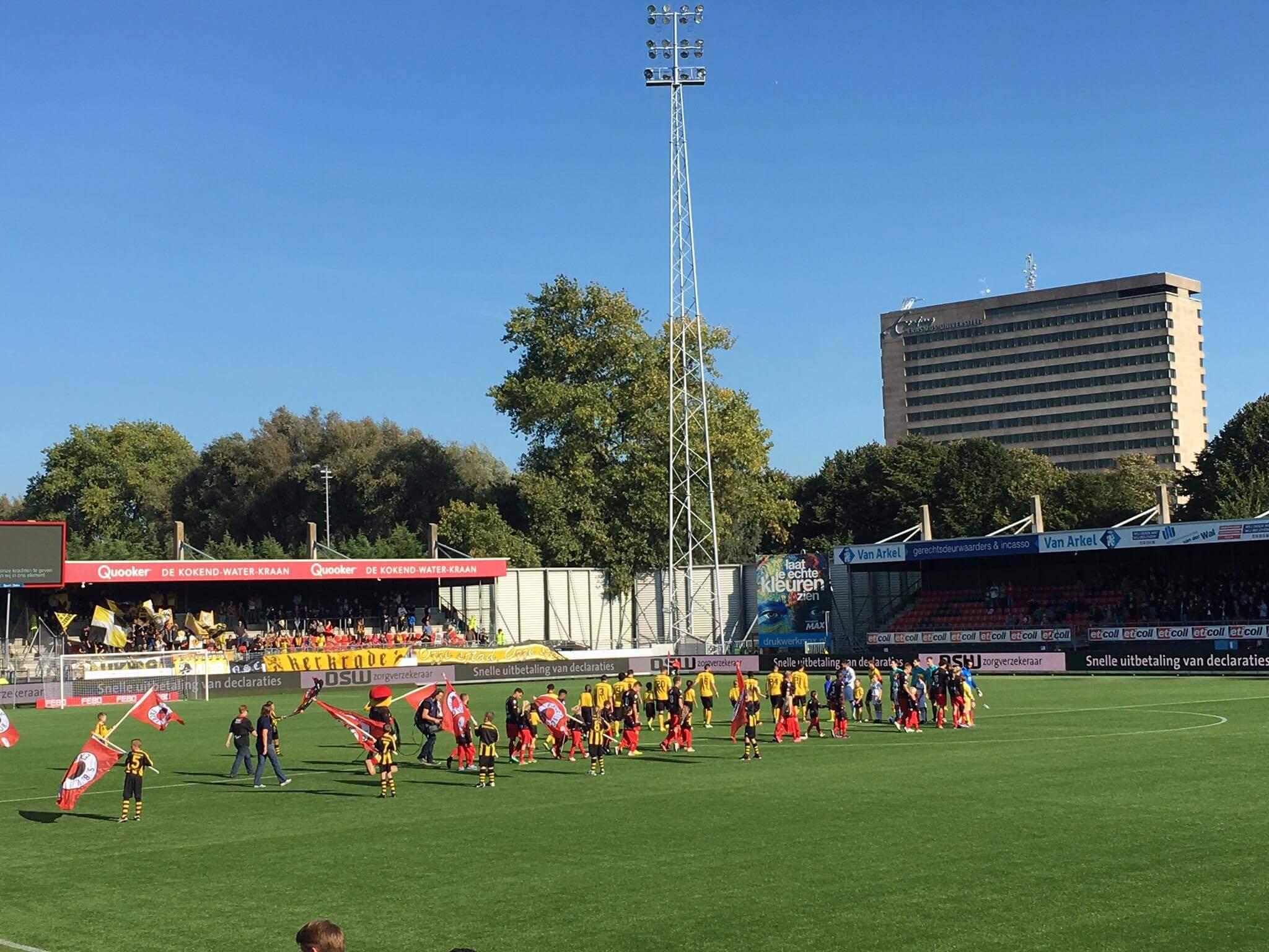 Rotterdam: Van Donge & De Roo Stadion - Woudestein