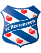 team photo for SC Heerenveen