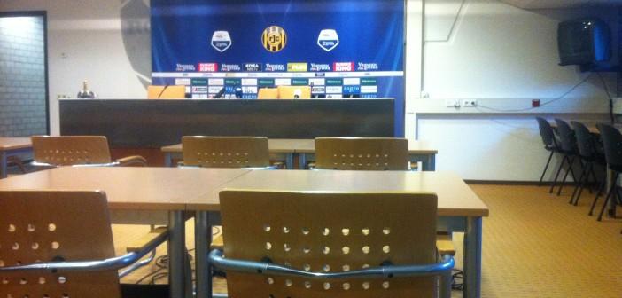 De perskamer van Roda JC