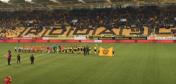 Debutant en topscorer helpen Roda JC langs Go Ahead Eagles