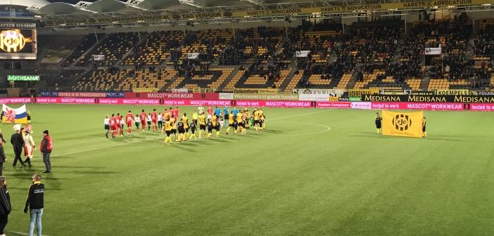 Roda JC blijft thuis puntloos tegen Almere City FC