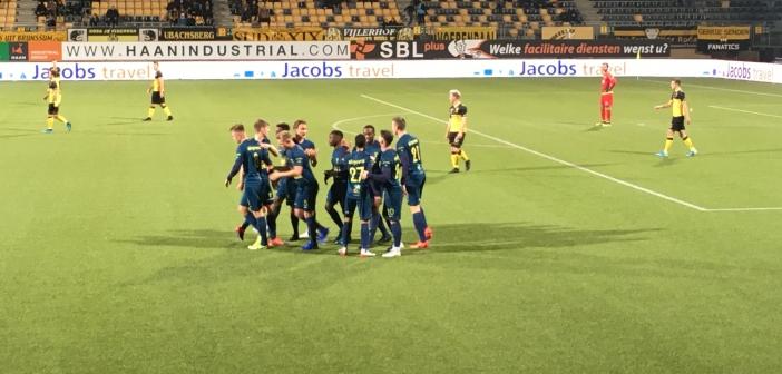 SC Cambuur wint voor het eerst in Kerkrade: 1-2