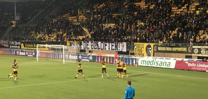 Ook Jordy Croux blijft jaar langer Roda JC'er