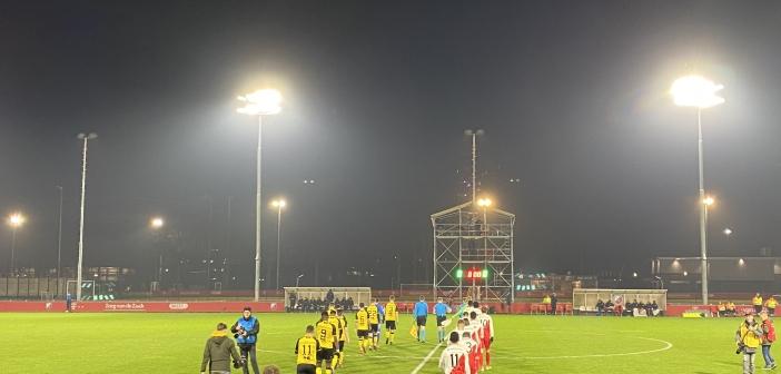 Roda JC geeft voorsprong weg tegen Jong FC Utrecht